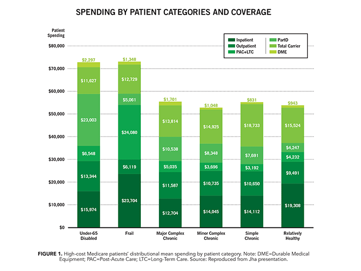 Spending by Patient Categories and Coverage